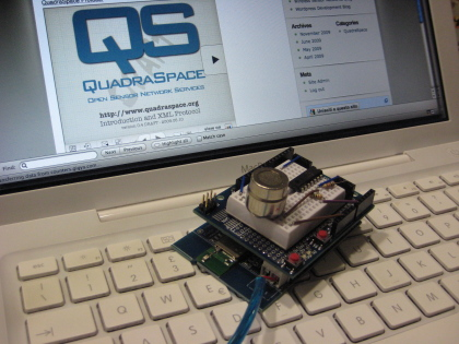 QuadraSpace first sensor prototype